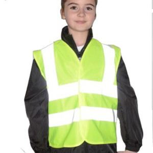 Hi Visibility Safety Vest - Yellow